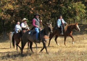 Riders on the Trail