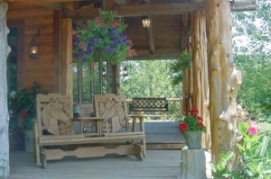 Front Porch of Main House